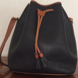 Vintage Dooney and Bourke Drawstring Bucket Bag